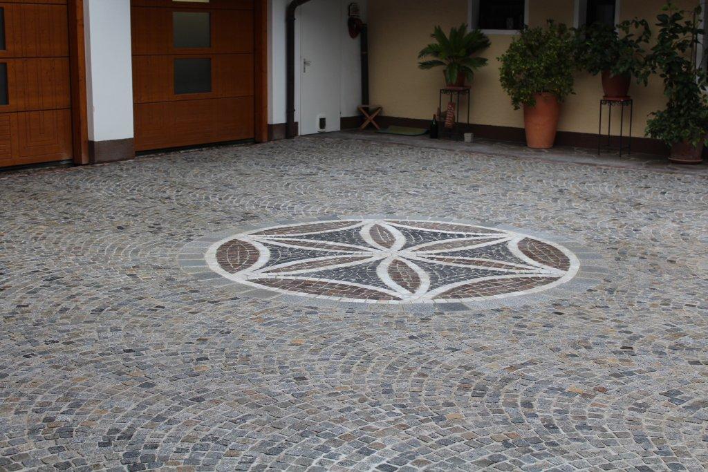 Pflasterung Mosaik