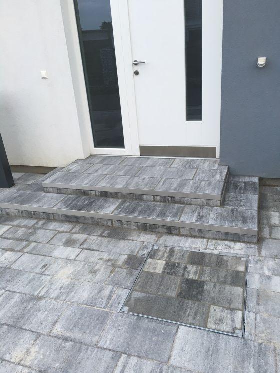 Pflasterung Treppe / Eingangsbereich
