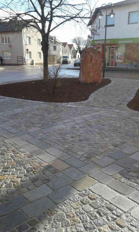Pflasterung öffentlicher Raum, Plätze, Gehwege